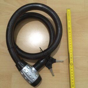 Fahrradschloss Spiralkabel 25 x 1200 mm, Sicherheit 10